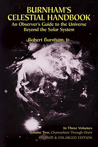Robert Burnham Burnham's Celestial Handbook Volume Two An Observer's Guide To The Universe Beyond The So Rev And Enl Dov