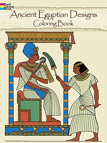 Ed Sibbett Ancient Egyptian Designs Coloring Book