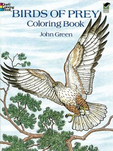 John Green Birds Of Prey Coloring Book