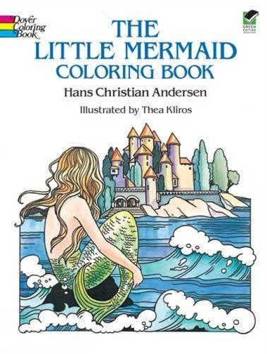 Hans Christian Andersen The Little Mermaid Coloring Book