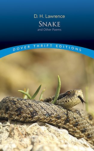 D. H. Lawrence Snake And Other Poems