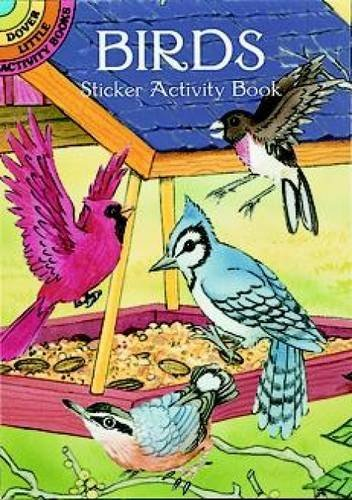 Cathy Beylon Birds Sticker Activity Book