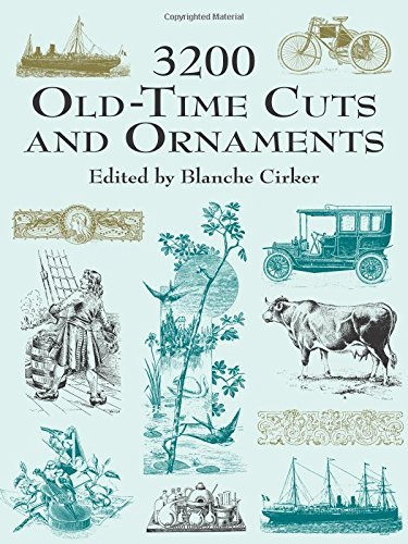 Blanche Cirker 3200 Old Time Cuts And Ornaments