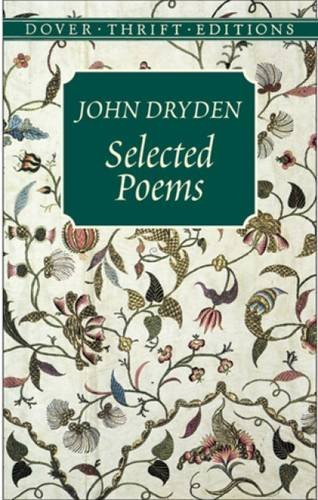 John Dryden Selected Poems