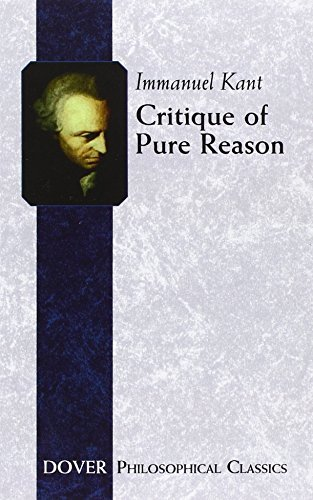 Immanuel Kant Critique Of Pure Reason