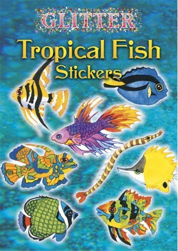 Nina Barbaresi Glitter Tropical Fish Stickers