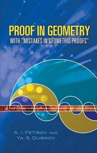 A. I. Fetisov Proof In Geometry With Mistakes In Geometric Proofs