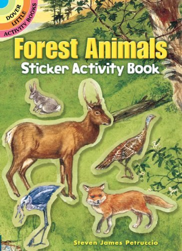 Steven James Petruccio Forest Animals Sticker Activity Book [with Sticker