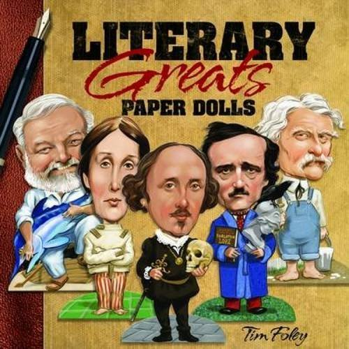 Tim Foley Literary Greats Paper Dolls Green