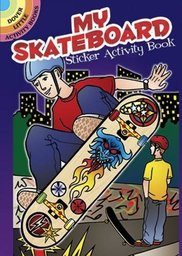 Jeremy Elder My Skateboard Sticker Activity Book