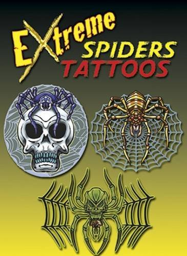 George Toufexis Extreme Spiders Tattoos