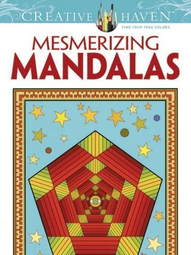 Randall Mcvey Creative Haven Mesmerizing Mandalas Coloring Book