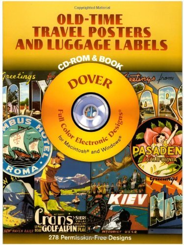 Carol Belanger Grafton Old Time Travel Posters And Luggage Labels [with C