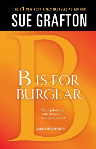 "Sue Grafton B"" Is For Burglar A Kinsey Millhone Mystery"