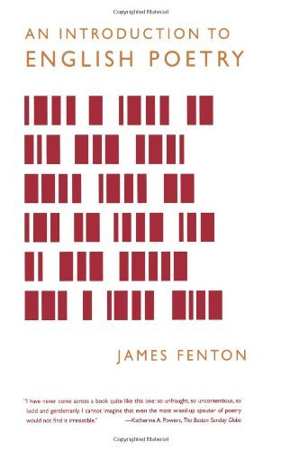 James Fenton An Introduction To English Poetry