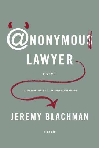 Jeremy Blachman Anonymous Lawyer