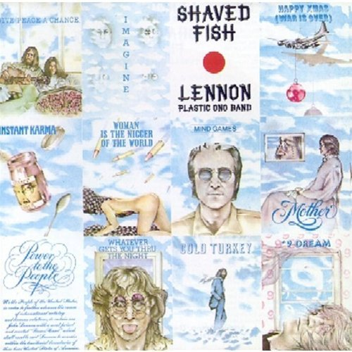 John Lennon Shaved Fish