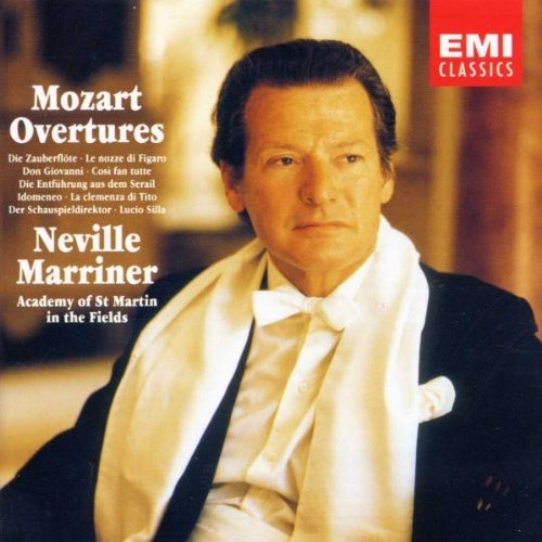 W.A. Mozart Overtures Marriner Asmf