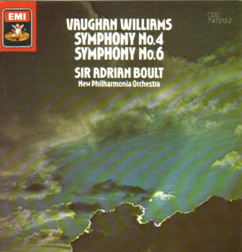 R. Vaughan Williams Sym 4 & 6