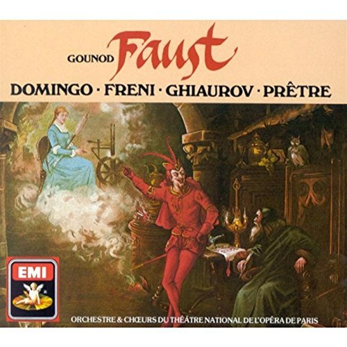 Freni Domingo Ghiaurov Faust Import Gbr 3 CD Set