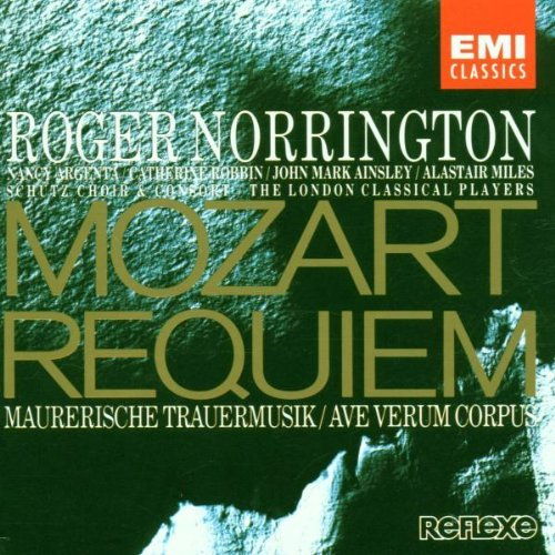 Mozart W.A. Requiem Ave Verum Corpus Mason Norrington London Classical Pl