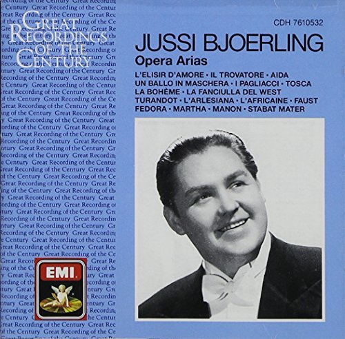 Jussi Bjorling Arias (recorded 1936 47) Bjorling (ten) Various