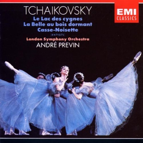 P.I. Tchaikovsky Swan Lake Sleeping Beauty Nutc Previn London Sym Orch
