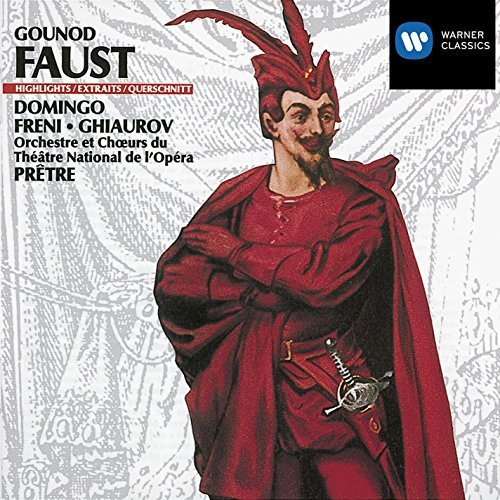 Freni Domingo Pretre Gounod Faust (highlights) Domingo Freni Ghiaurov Pretre Paris Opera Orch