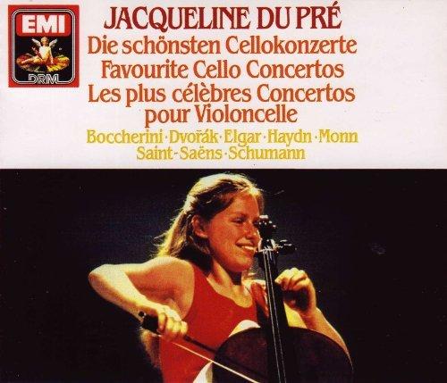 Jacqueline Du Pre Favorite Cello Concerti 3 CD