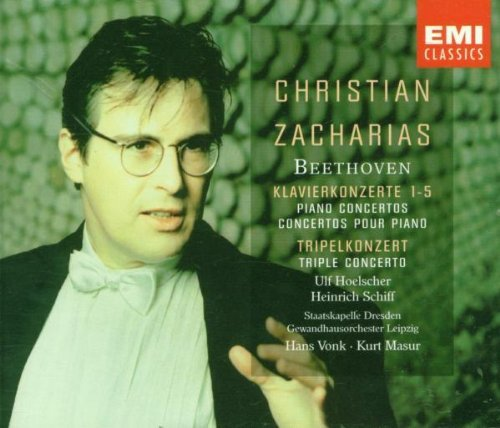 L.V. Beethoven Five Piano Ctos Zacharias*christian (pno)