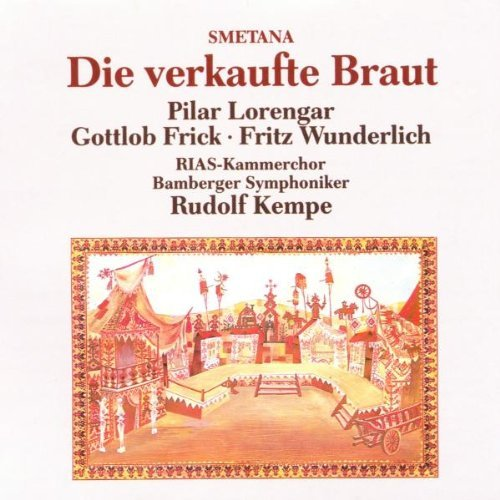 B. Smetana Bartered Bride Lorengar Kempe 2 CD Set