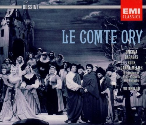 G. Rossini Comte Ory Comp Opera Roux Sinclair Oncina Troy & Gui Glyndebourne Fest Orch