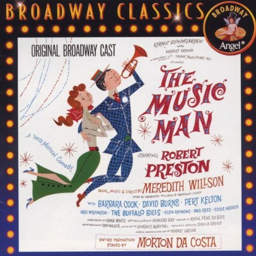 Broadway Cast Music Man Preston Cook