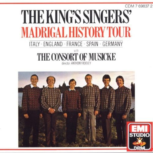 King's Singers Madrigal History Tour King's Singers