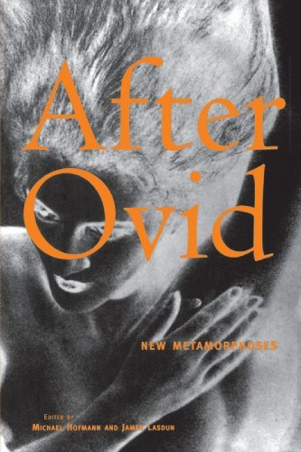 Michael Hofmann After Ovid New Metamorphoses
