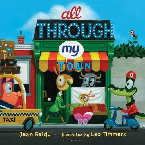 Jean Reidy All Through My Town