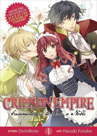 Quinrose Crimson Empire Volume 1 Circumstances To Serve A Noble