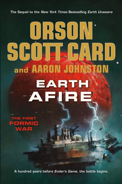 Orson Scott Card Earth Afire The First Formic War