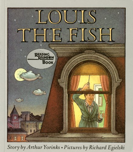 Arthur Yorinks Louis The Fish Sunburst