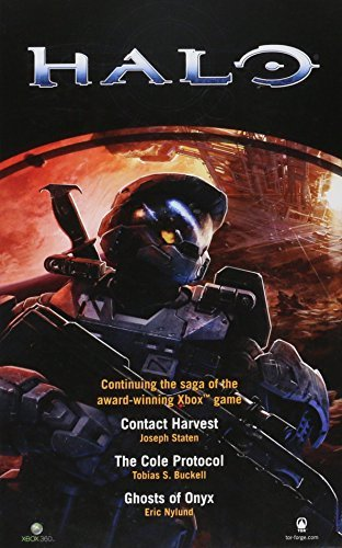 Various Authors Halo Boxed Set Contact Harvest The Cole Protocol Ghosts Of Onyx