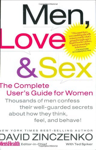 David Zinczenko Men Love & Sex The Complete User's Guide For Women