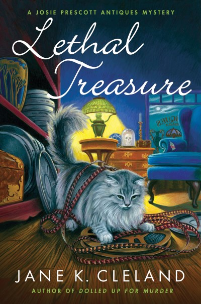 Jane K. Cleland Lethal Treasure