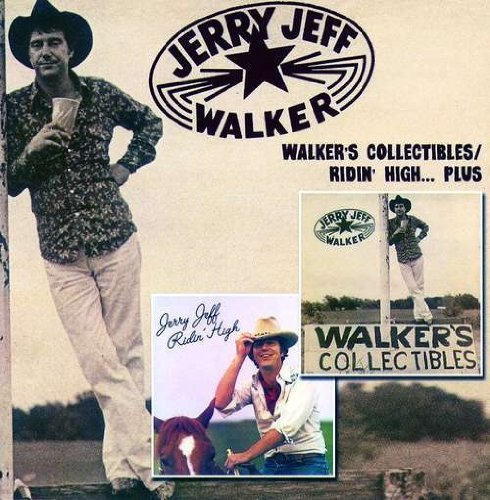 Jerry Jeff Walker Walker's Collectibles & Ridin' 2 CD