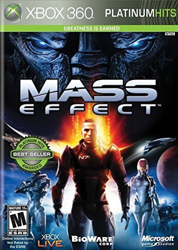 Xbox 360 Mass Effect (m) Platinum Hits Microsoft Corporation M