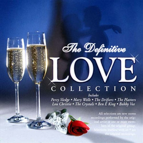 Definitive Love Collection Definitive Love Collection Tymes Platters Sledge Vee 3 CD Set