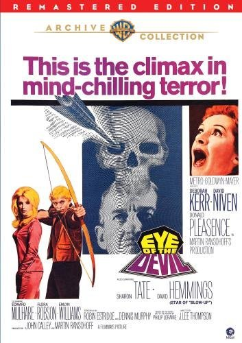 Eye Of The Devil (remastered) Kerr Niven Pleasence Bw Ws DVD R Nr