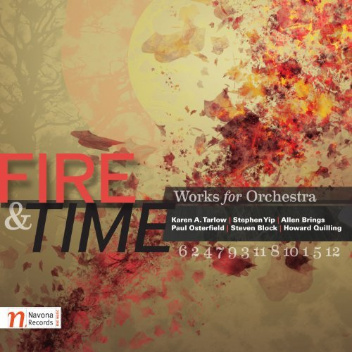 Tarlow Yip Brings Osterfield B Fire & Time Enhanced CD St Petersburg Philharmonic Orc