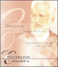 P.I. Tchaikovsky Symphony No. 4 In F Minor DVD Audio Comissiona Baltimore So