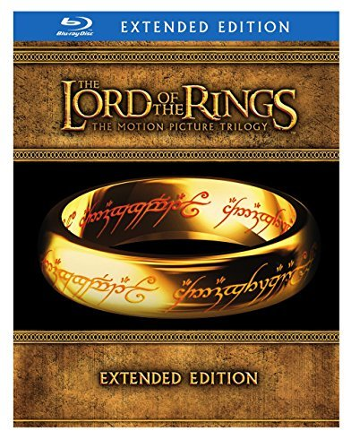 Lord Of The Rings Trilogy Wood Mckellen Mortensen Astin Blu Ray Ws Extended Ed. Pg13 15 Br