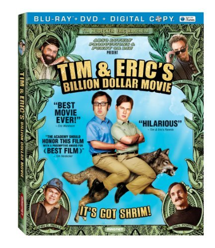 Tim & Eric's Billion Dollar Movie Heidecker Wareheim Blu Ray DVD Dc R
